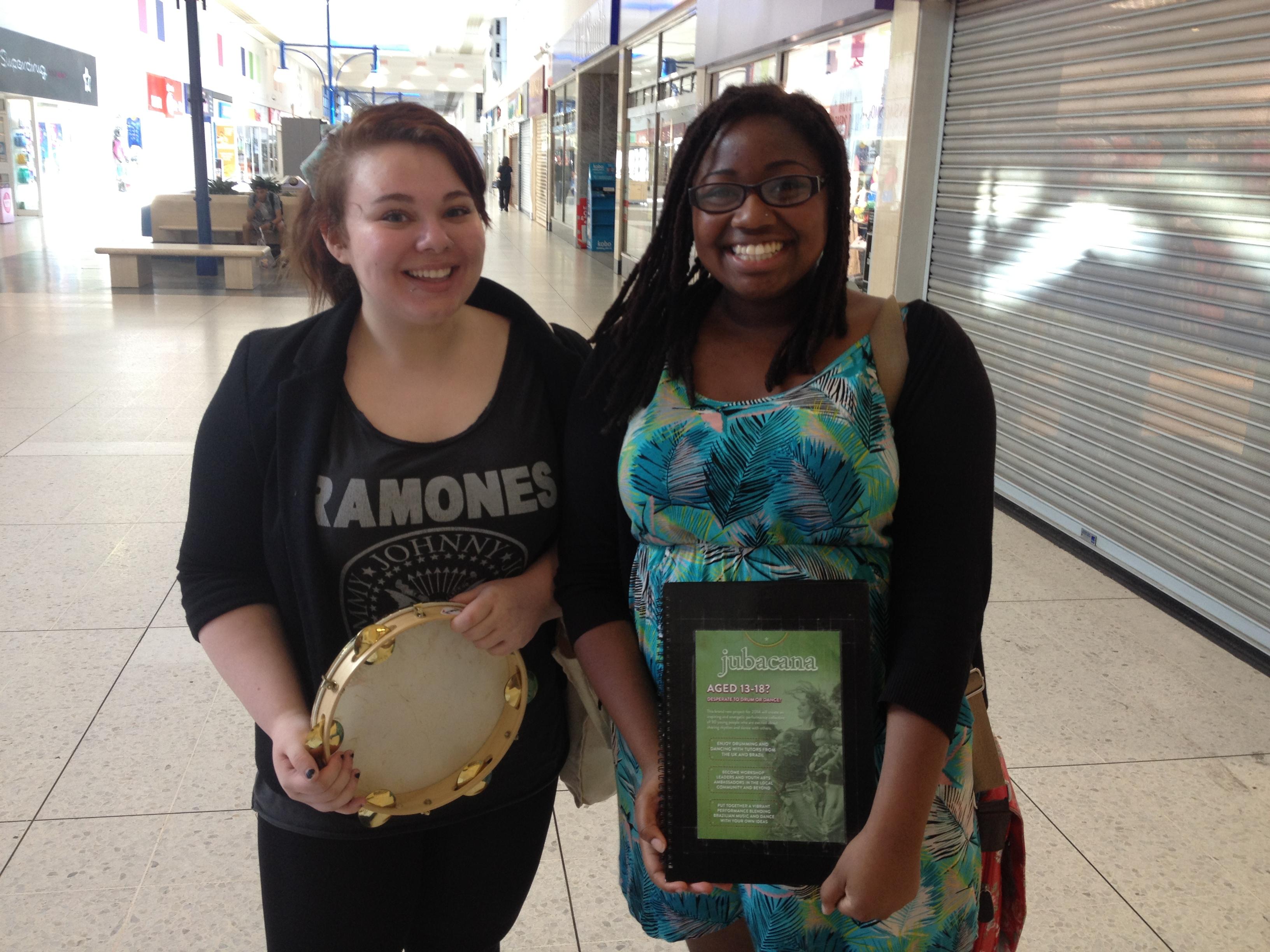 Charlotte and Rhesa
